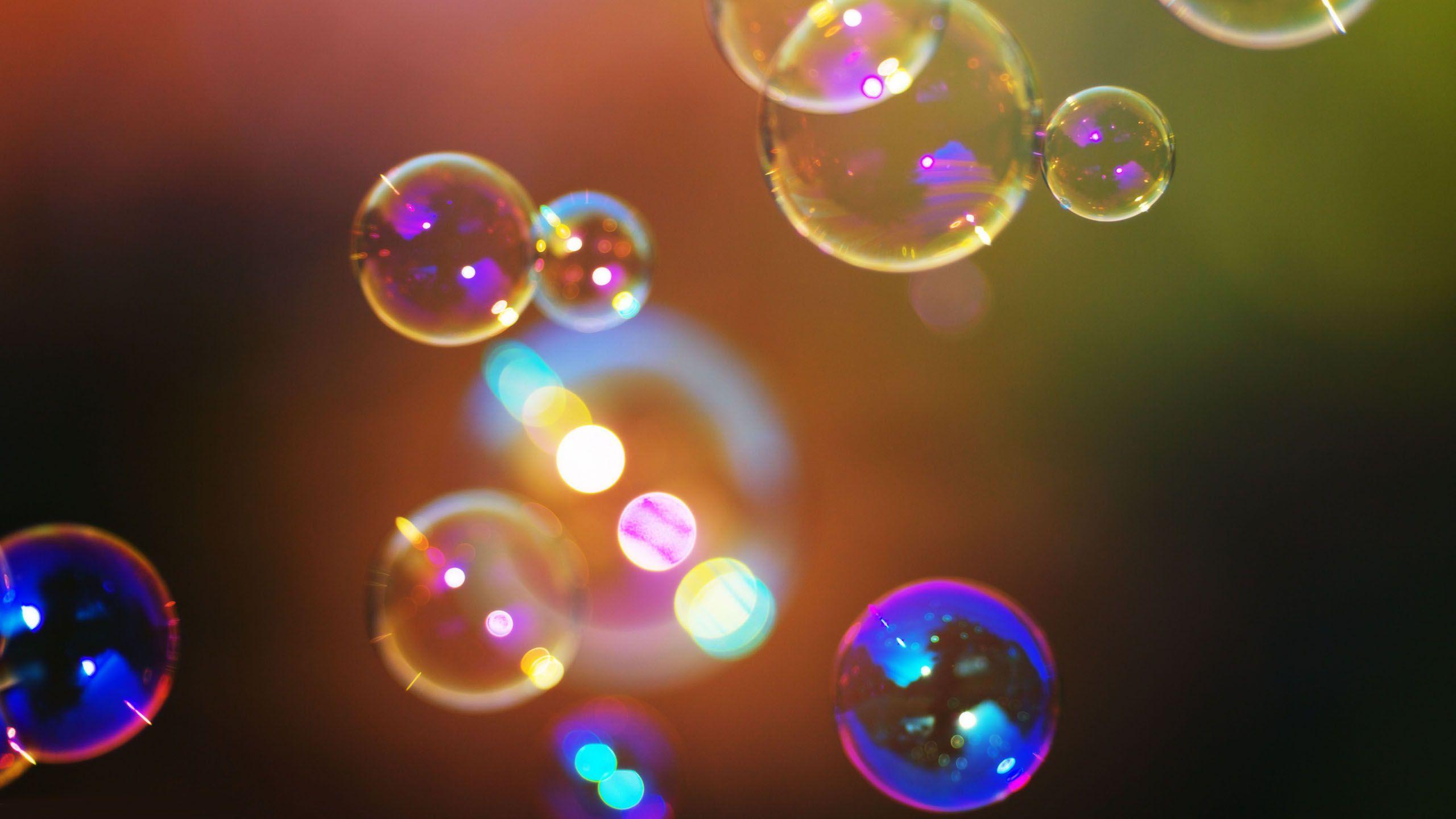 Soap Bubbles Wallpaper