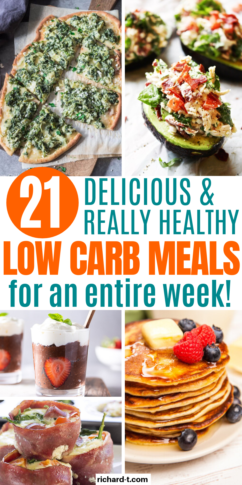 7 Days Of Easy Low Carb Food Recipes You Need Right Now images