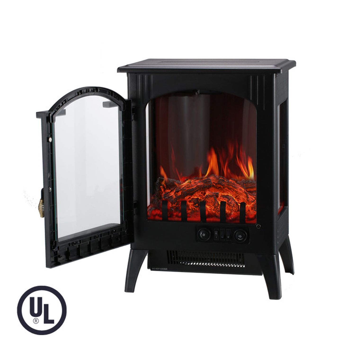 electric fireplace freestanding heater