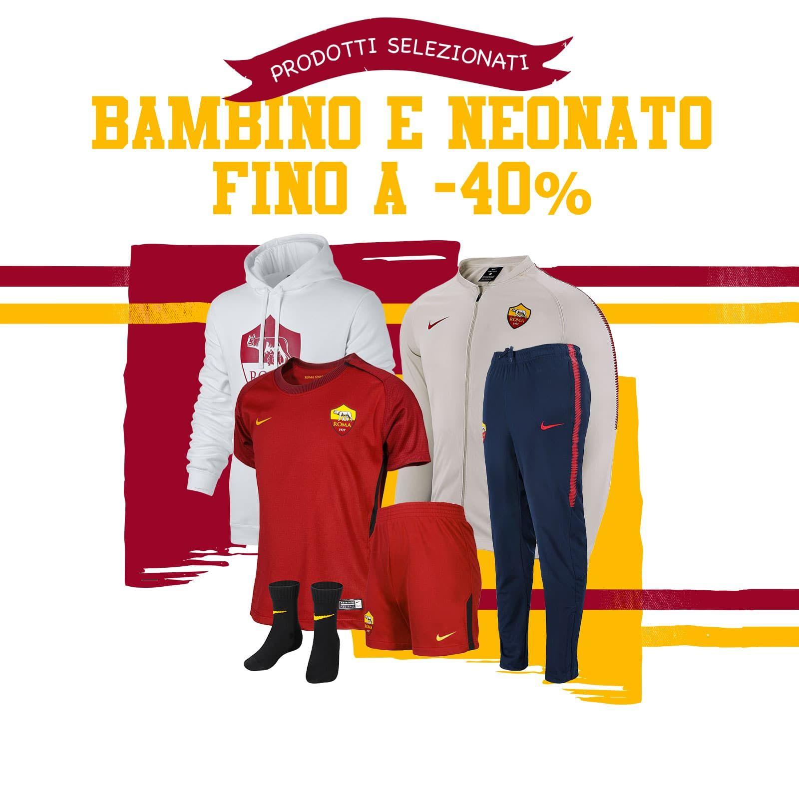 abbigliamento ROMA gara
