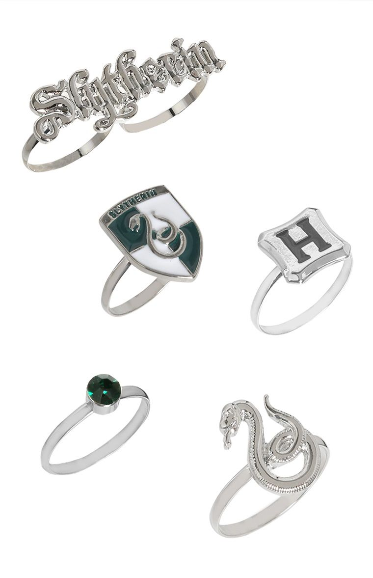 Lucius Malfoy Harry Potter Inspired Slytherin Snake Ring