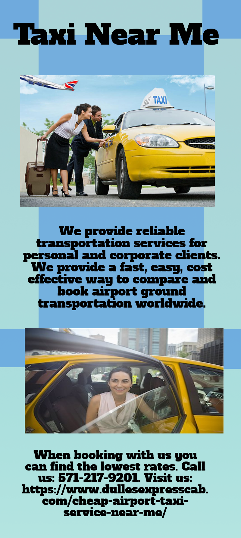 Our friendly drivers can pick you up anywhere and take you
