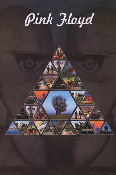 Pink Floyd Album Covers Pyramid Poster 24x36 With Images Pink