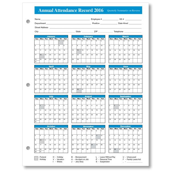 Great Attendance Record Template Attendance Record For Clubs Church And Sunday  School Attendance, Free Attendance Tracking Templates And Forms, 38 Free  Printable ...