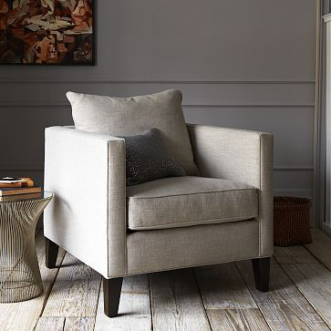 Dunham Down-Filled Armchair - Toss Back (Solids) For the ...