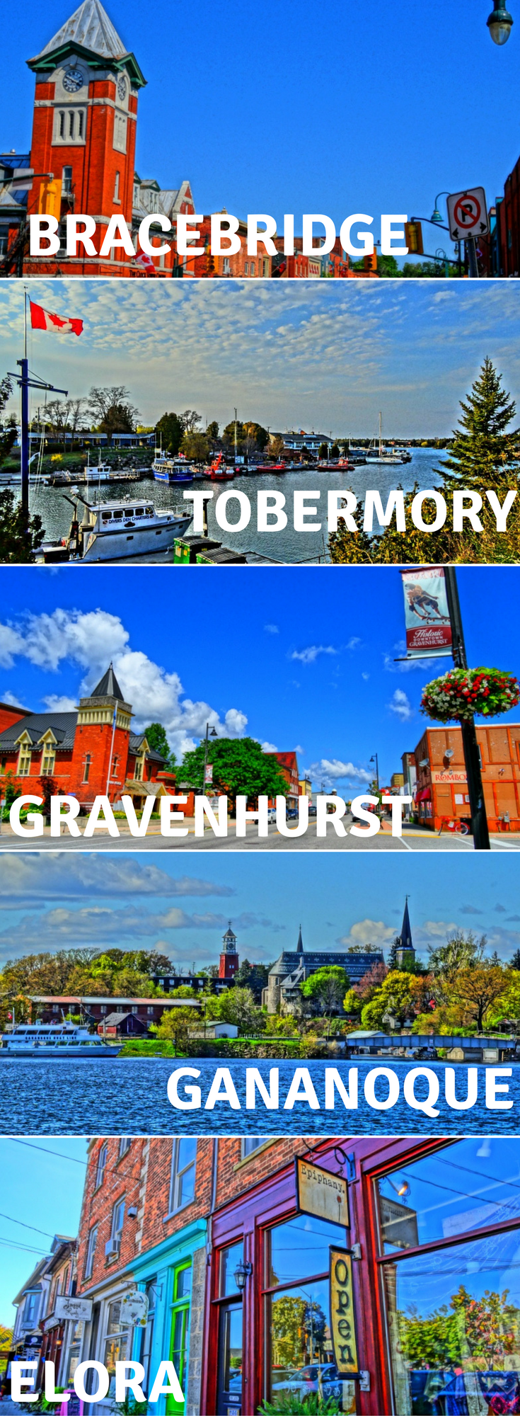 Discover the top 10 Ontario small towns that you'll fall in love with. From Tobermory to Niagara-On-The-Lake, these charming small towns will make you want to book a weekend getaway now!