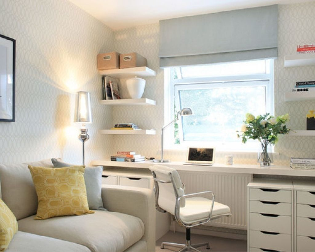 Small Home Office Guest Room Guest Bedroom Office Small Guest