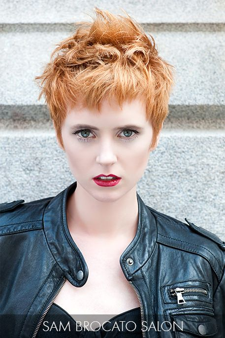 Incredible Ruffle The Senses With This Assertive Strawberry Blonde Pixie Cut Hairstyles For Men Maxibearus