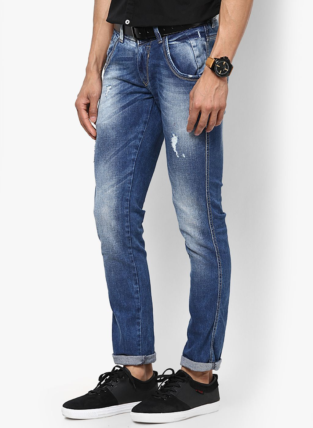 e7dbfca4 Buy Spykar Blue Skinny Fit Jeans for Men Online India, Best Prices, Reviews  | SP116MA02FFTINDFAS