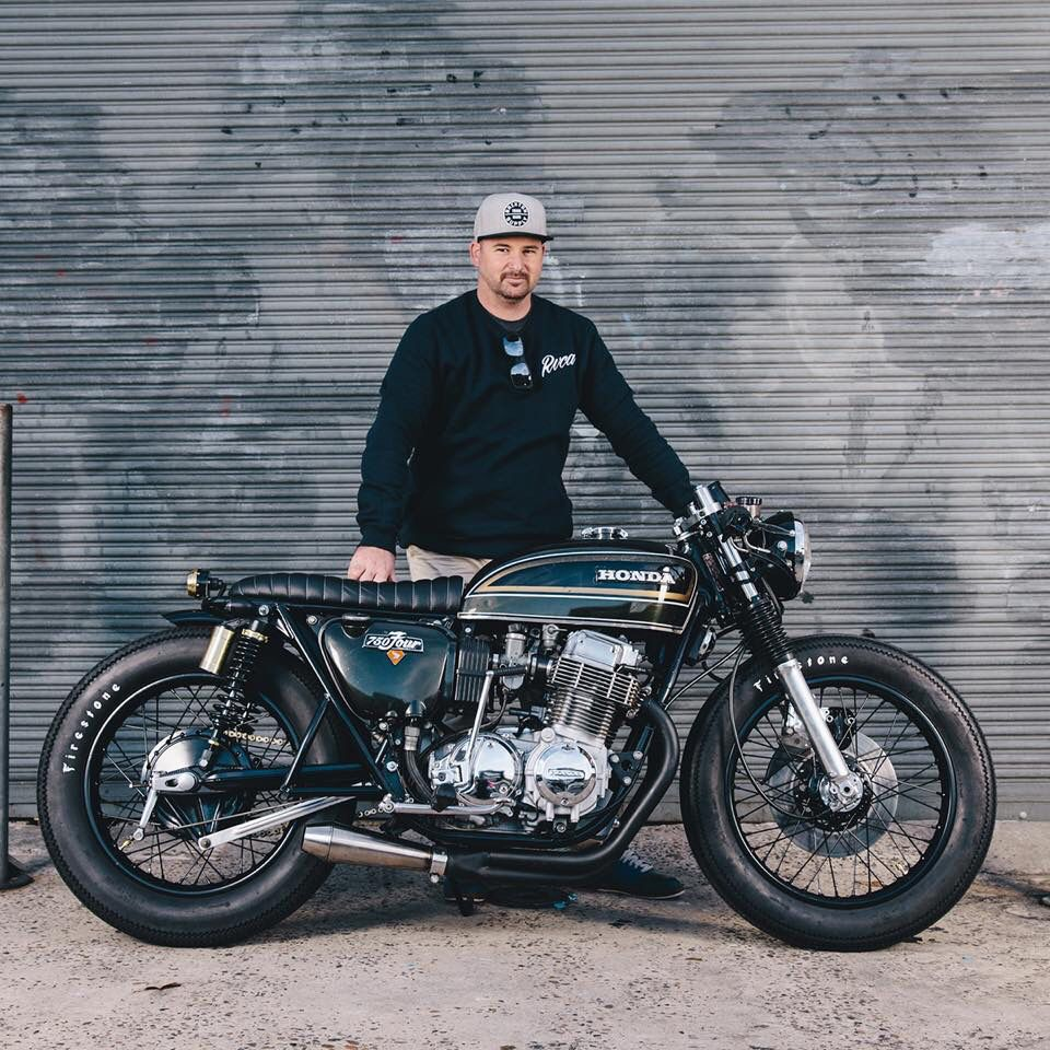 Honda Cb750 Cafe Racer >> Honda Cb750 By Adrian Leather Motorcycles Cb750