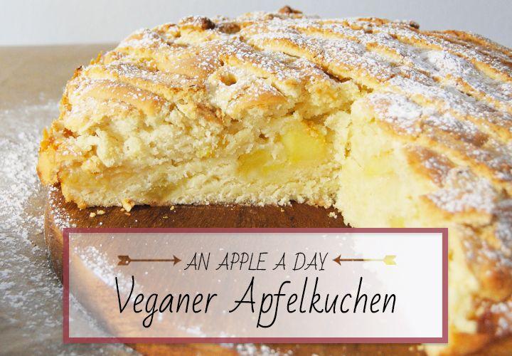 dermaleinst // Veganer Apfelkuchen | Vegan | Pinterest ...