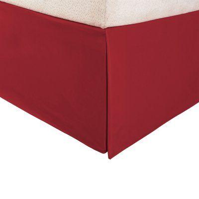 Superior 1500 Series Brushed Microfiber Wrinkle Resistant Solid Bed Skirt - MF1500KGBS SLBG
