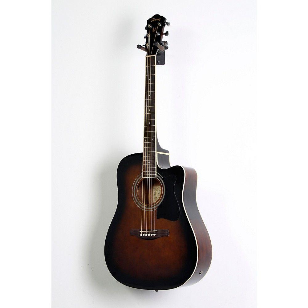 Ibanez V70CE Acoustic-Electric Cutaway Guitar Violin Sunburst 888366034637