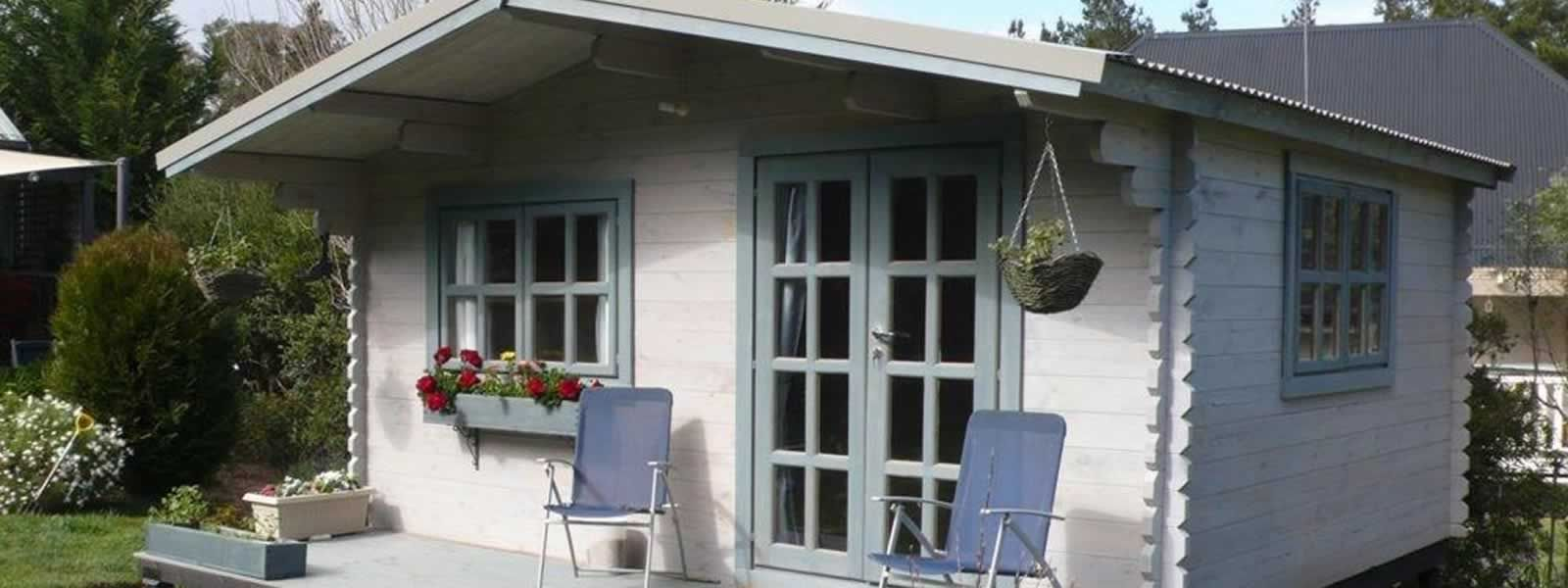 Backyard log cabins for sale Sydney. Well-insulated, good ...