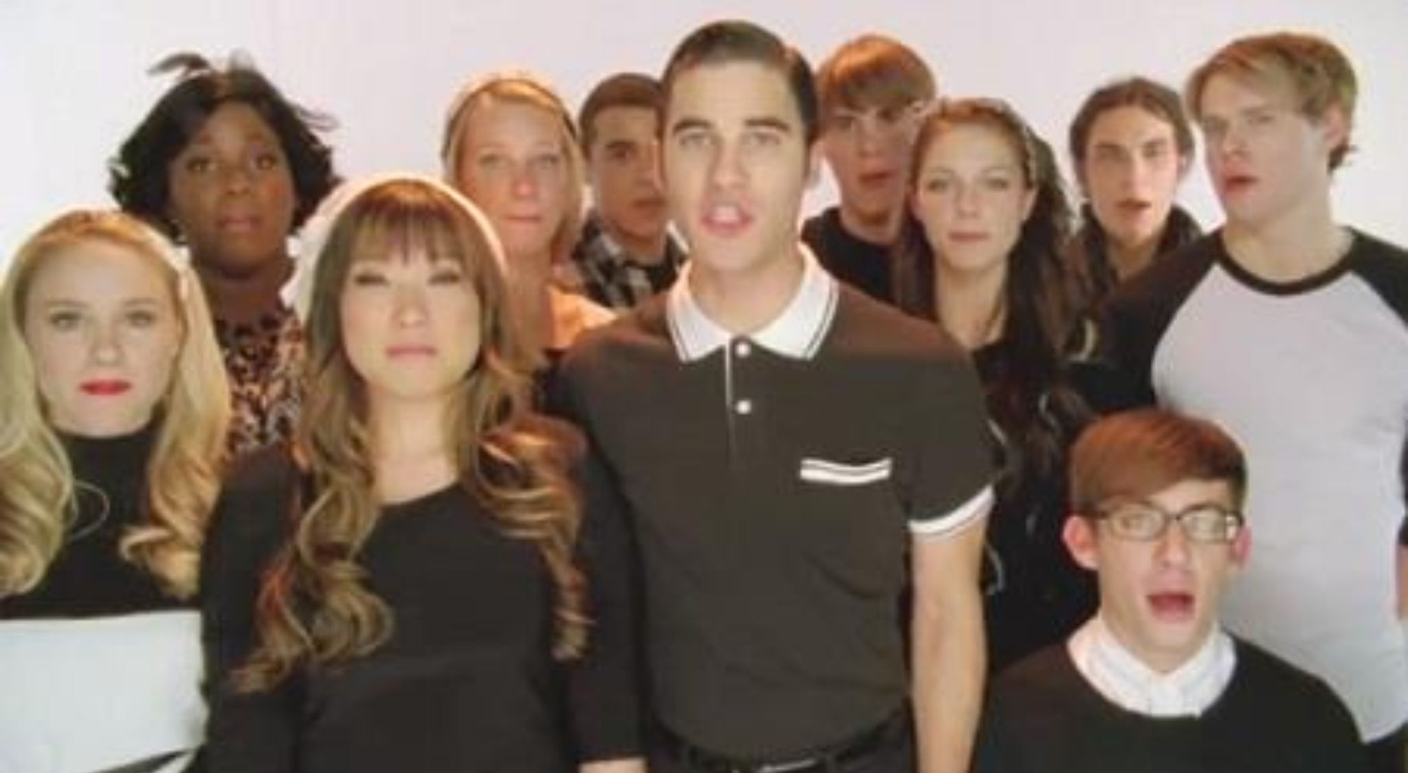 Glee Cast This Is The New Year Glee Glee Cast It Cast