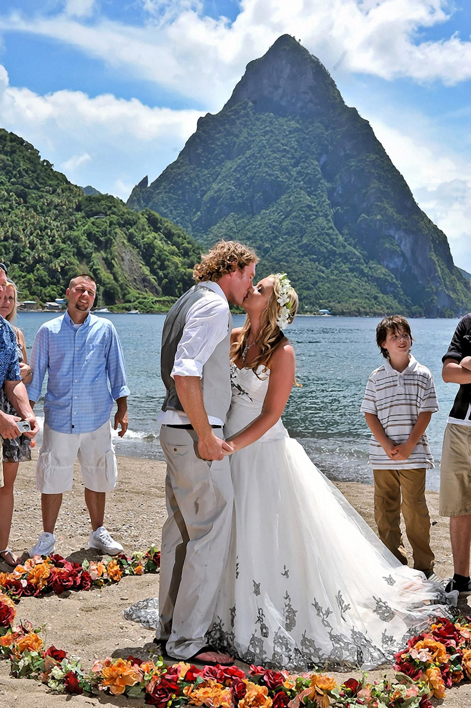 Pions Of The Heart Wedding Package In St Lucia Click Image For More