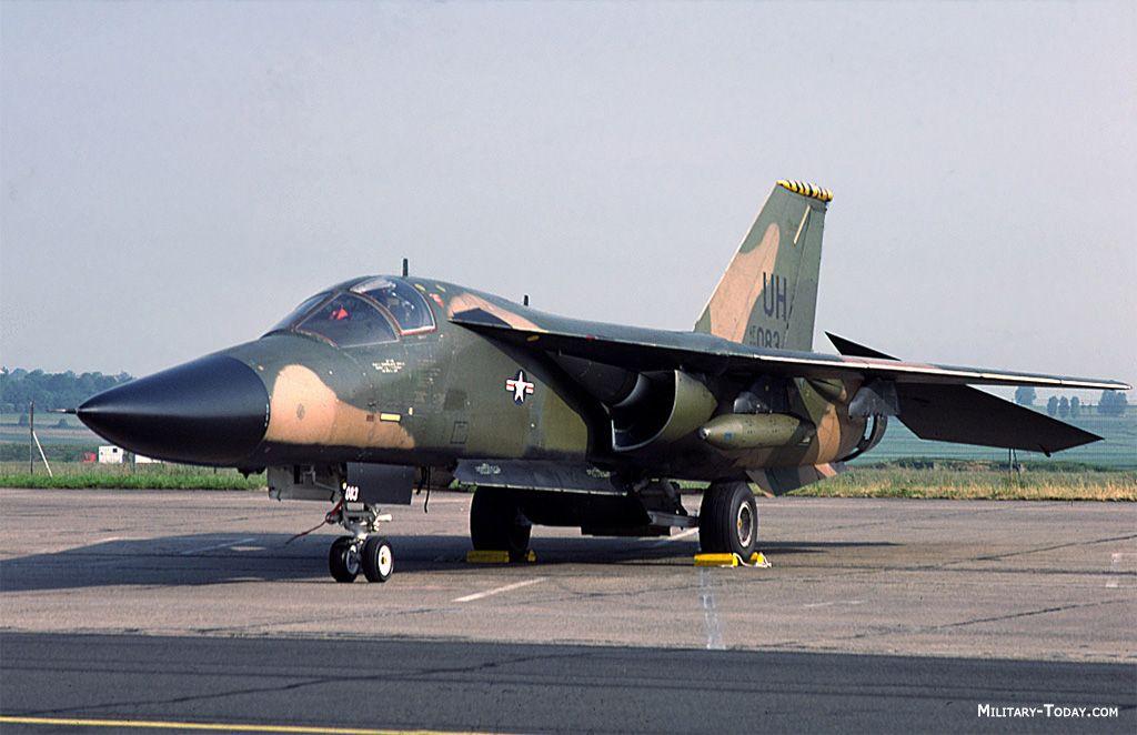 F 111 de 20a Ala de Luchador Táctica, RAF Upper Heyford, el Reino Unido.
