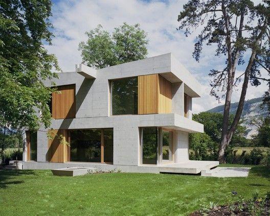 Villa Sandmeier,Courtesy of Lacroix Chessex Architects