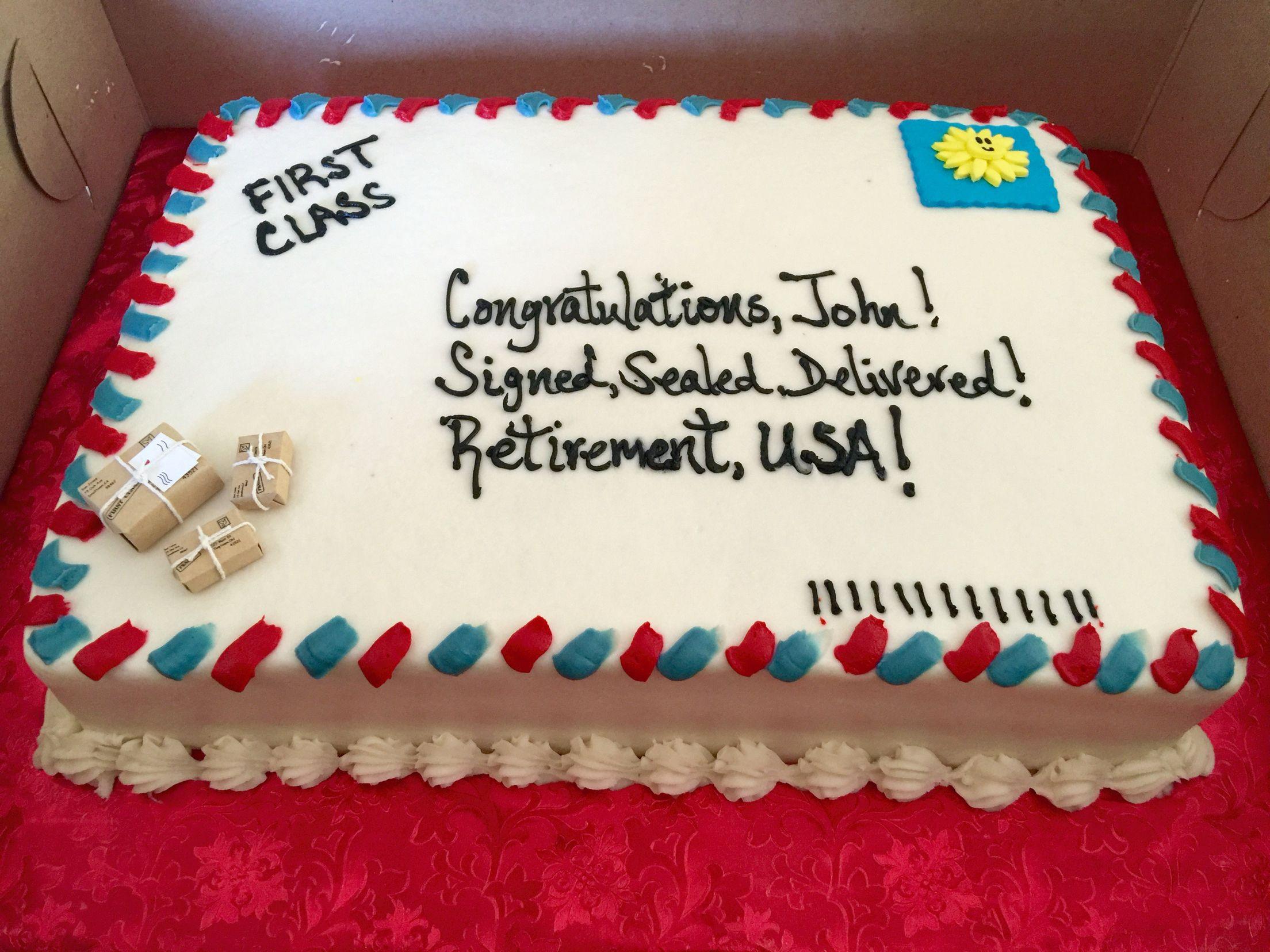 Farewell Cake Decorating