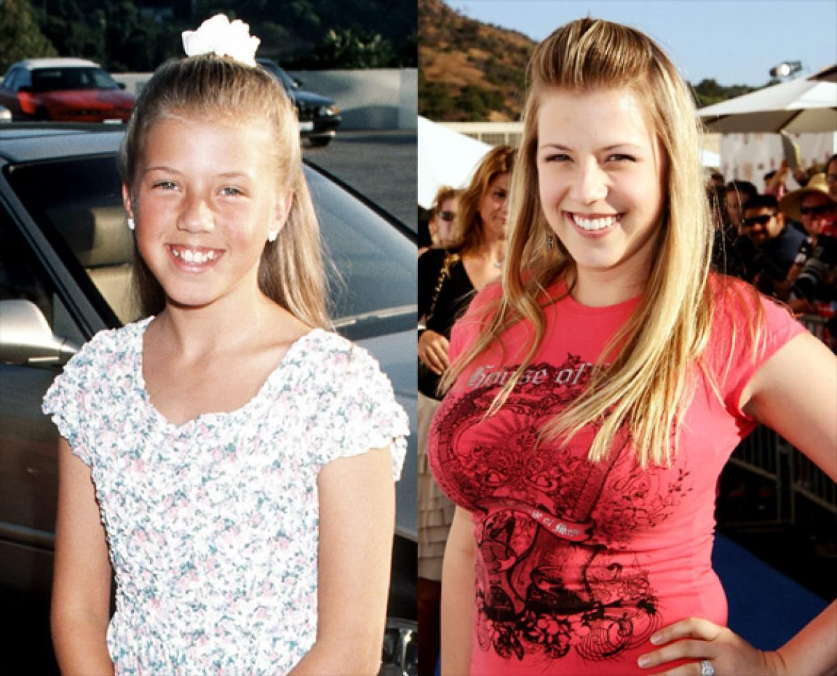 Stephanie From Full House Then And Now