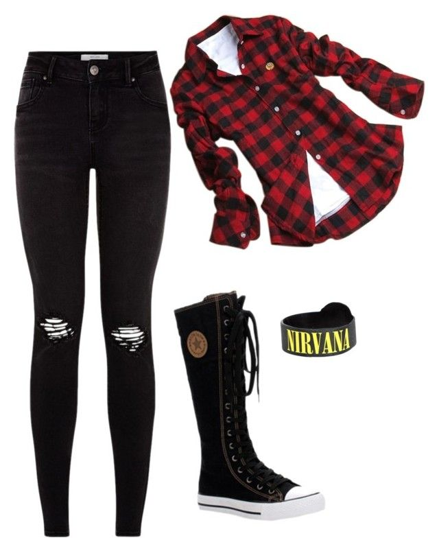 """""""Grunge Girl"""" by graciefarber on Polyvore"""