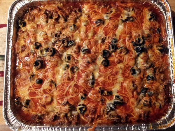 "Enchilada pie! 5.00 stars, 11 reviews. ""Soooo delicious!!!"" @allthecooks #recipe"
