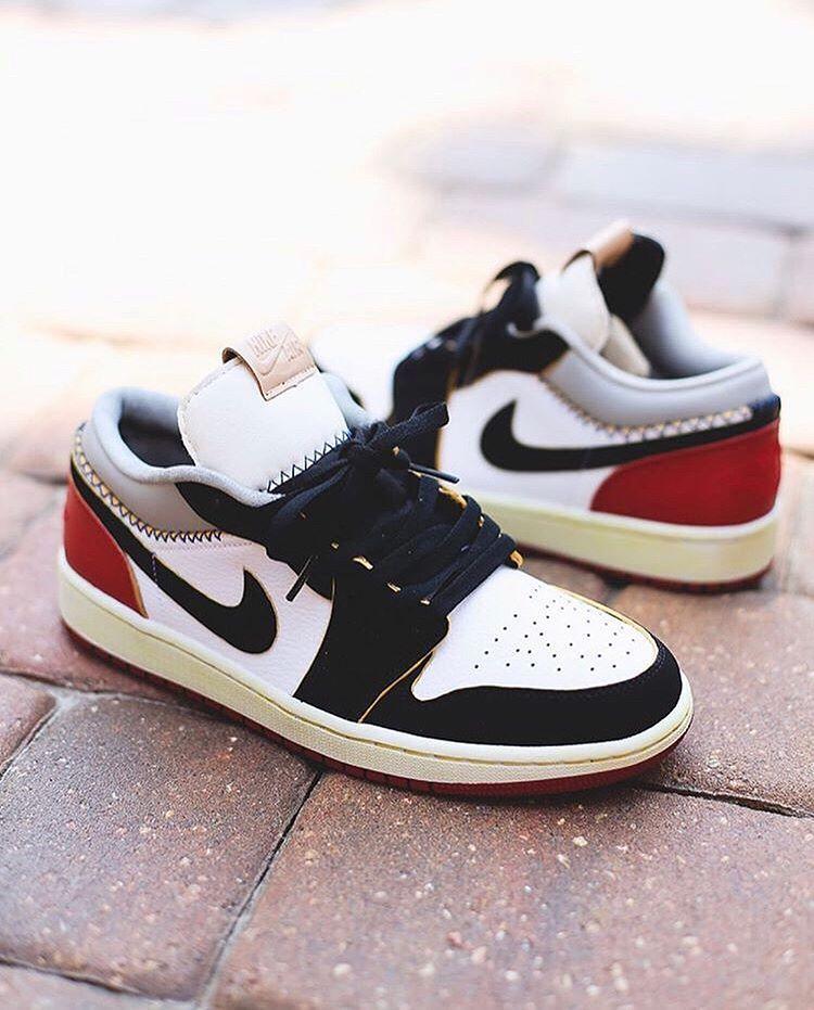 Air jordans, Jordan 1 low, Womens sneakers