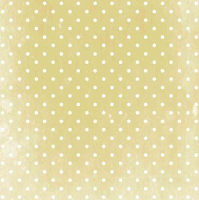 free digital polka dot scrapbooking paper in vintage design