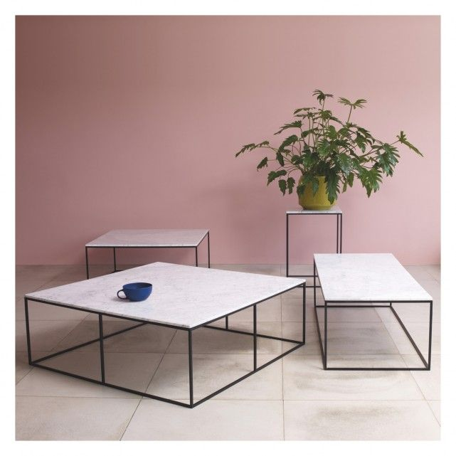 Nestor Large Square Marble Coffee Table Buy Now At Habitat Uk