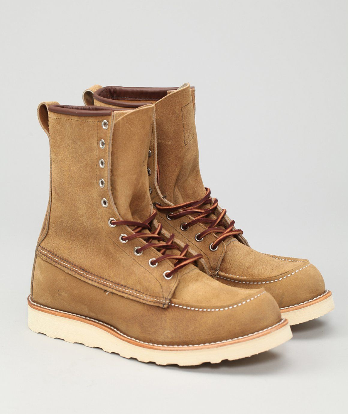 a59452e8aff Red Wing - 879 8-inch Moc Toe | Sweets | Shoe boots, Boots ...