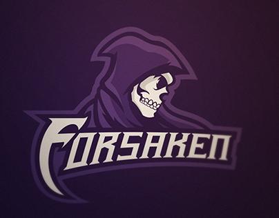 Reaper mascot logo design for eSport team, Forsaken