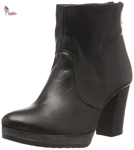Son16 Bianco Bottes Clean Femme Platform Boot Noir Courtes Ozpz4