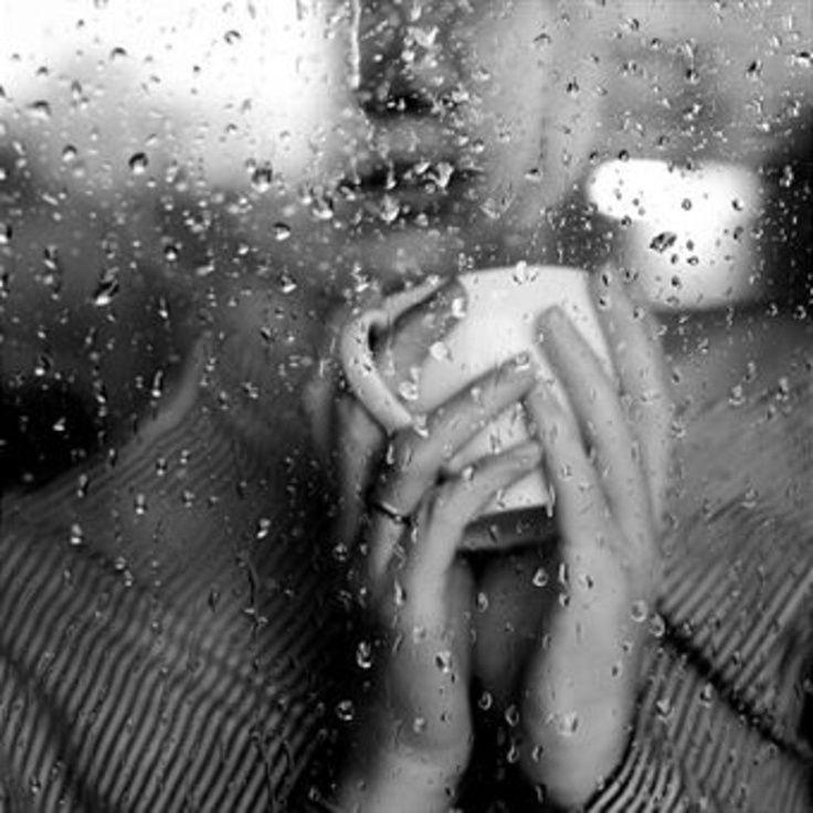 Прикольная, картинки о дожде и грусти