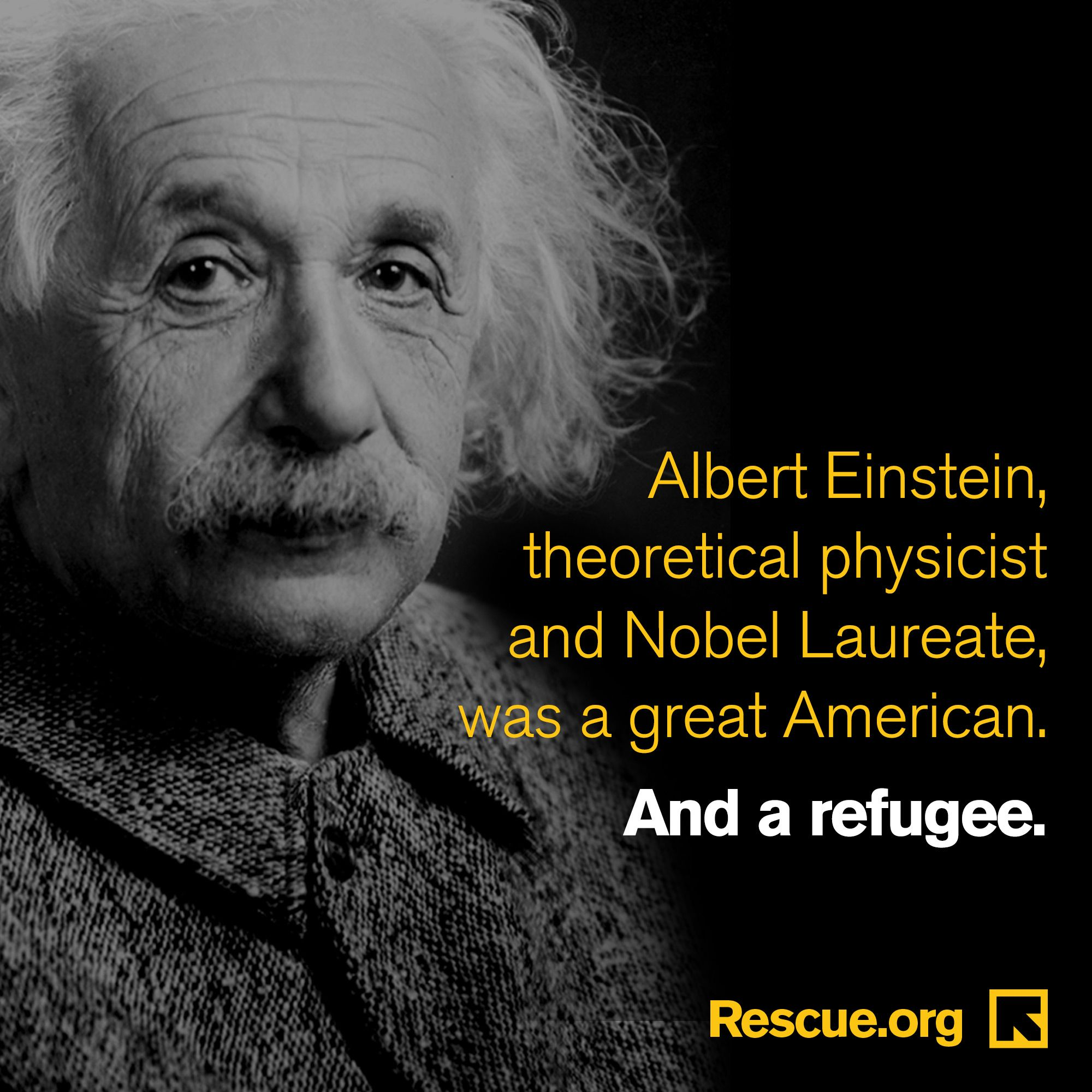 Refugee Quotes Did You Know That Albert Einstein Was A Refugee The United States