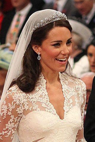 Hochzeitsfrisur Von Kate Princess Pinterest Kate Middleton