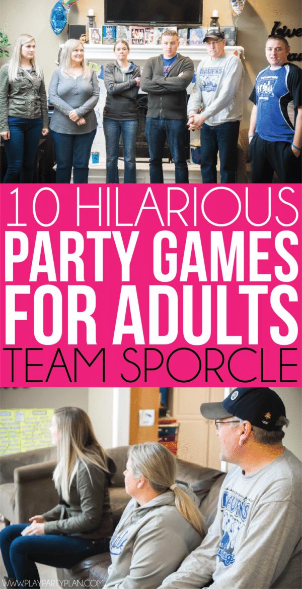 Photo of 19 lustige Partyspiele für Erwachsene – Partyplan spielen