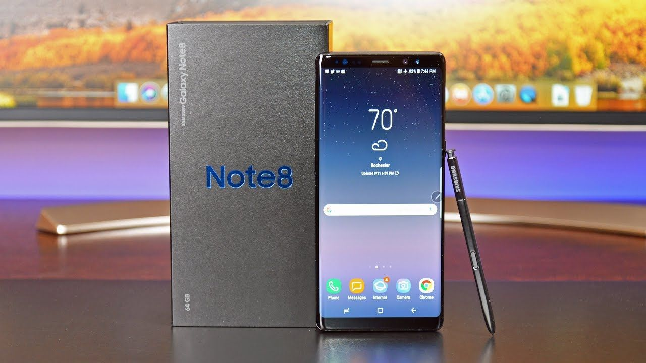 Samsung Galaxy Note 8 Unboxing Review Samsung Android Oreo Galaxy Note 8