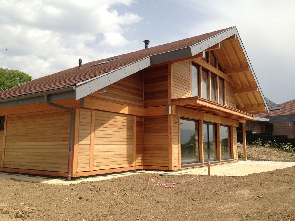 Constructeur maison ossature bois bbc haute savoie 74 d e c o h o m e pinterest bbc log for Constructeur ossature bois