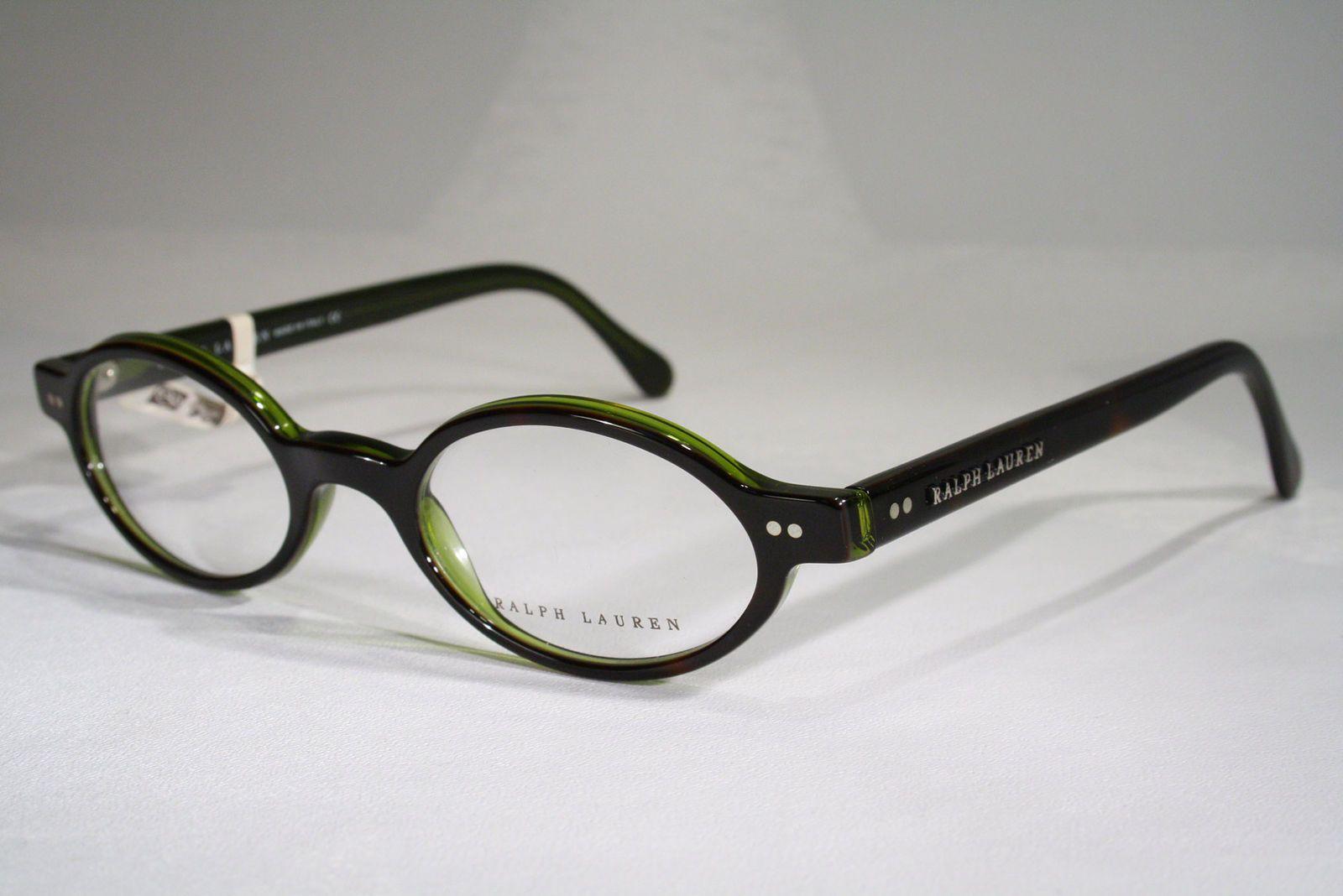 c72e249c26e3 Women s POLO RALPH LAUREN 6046 Translucent Tortoise   Green Arty  Individualistic Oval Eyeglass Frames   eBay (RipVanW)