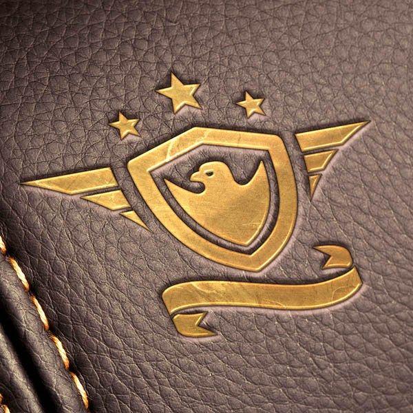 10 Free Leather Logo Mockup Templates for Brand Presentation -