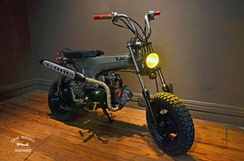 Low Budget Customs C L B C Little Rocket Via L B C Little Rocket Mini Bike Motorcycle Design Custom Street Bikes