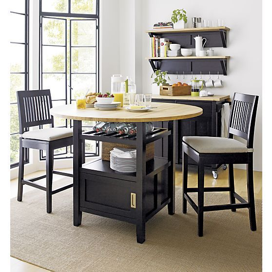 Shop Index Crate And Barrel High Dining Table Kitchen Nook Table Furniture