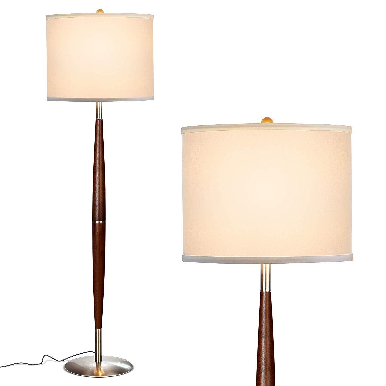 Brightech Lucas LED Pole Floor Lamp Modern Living Room