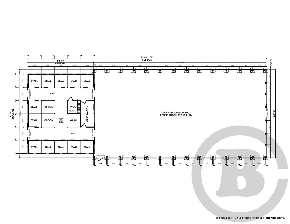Decloet Indoor Riding Arena With Fabric Roof Attached Barn
