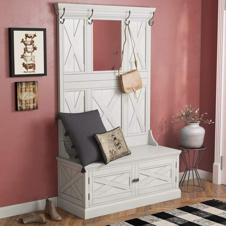 Laurel Foundry Modern Farmhouse Moravia Hall Tree Furniture Italian Bedroom Furniture Home Decor