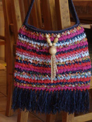 Cheerful Rag Bag Free Crochet Pattern Craft Ideas Pinterest
