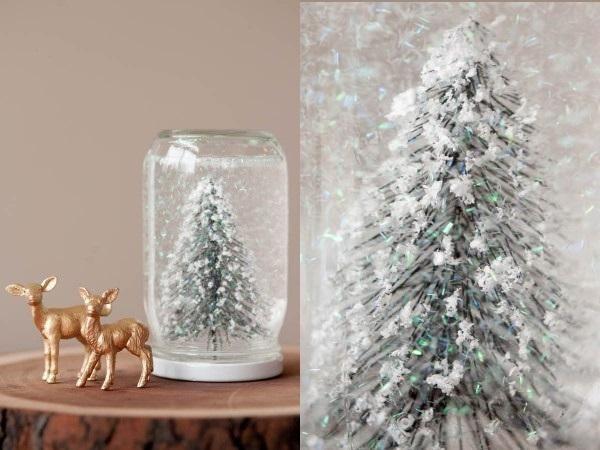 diy de noel je fabrique une boule neige boules de neige snowglobe pinterest. Black Bedroom Furniture Sets. Home Design Ideas