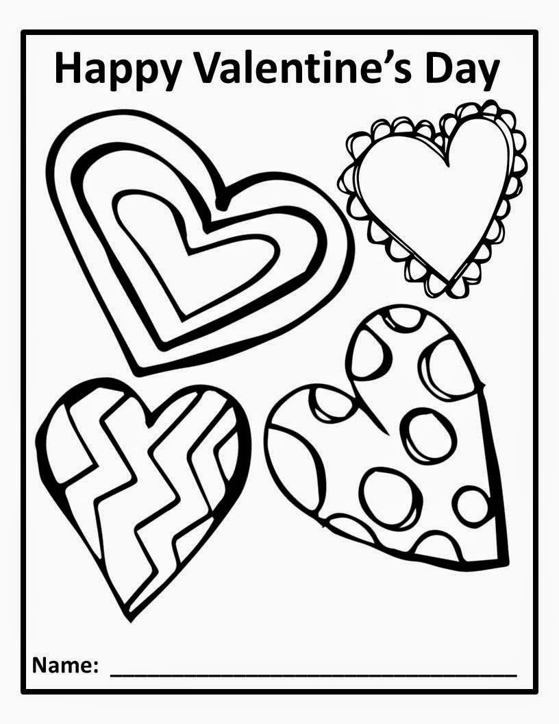 The Chalk Sweets For The Sweet Valentines Day Coloring Page Valentines Day Coloring Valentines Writing [ 1056 x 816 Pixel ]