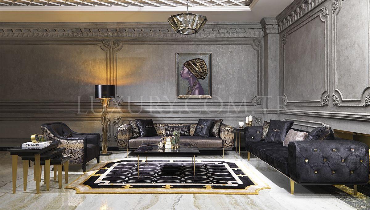 Lux Valentino Living Room 2020 Ev Icin Mobilya Oturma Odasi Fikirleri