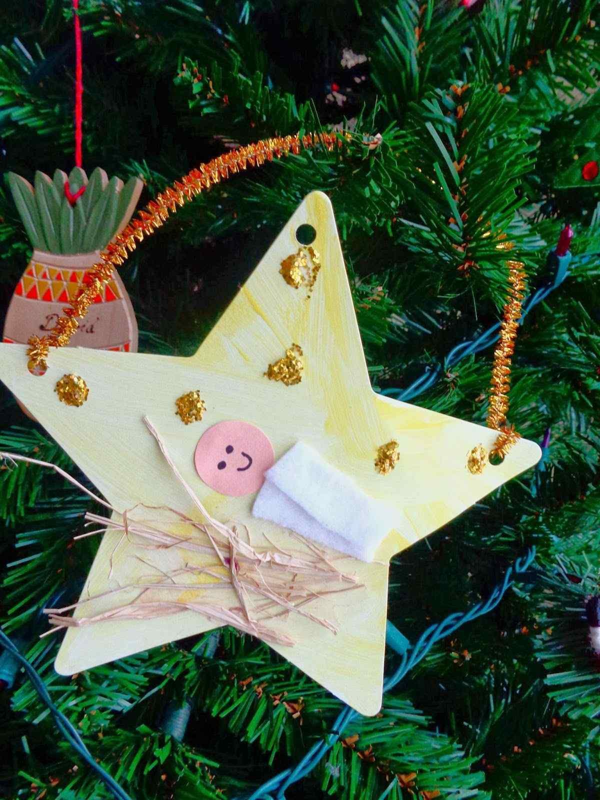 Christmas Decorations To Make With Children At Preschool New Preschool Christmas Crafts Jesus
